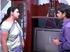 saree aunty seducing and showing to TV repair fellow .MOV
