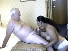 Dad with indian women