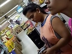 20 Year Old Immense TITS INDIAN Lady Spied In The Mall