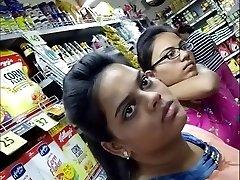 20 Year Old BIG Bra-stuffers INDIAN GIRL Snooped In The Mall