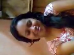 Desi Girl Bumpers Pressed By Boyfriend
