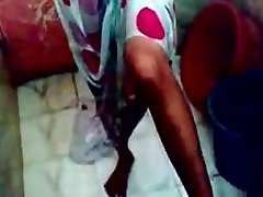 (DirtyCook) Indian GF pummeled in the shower