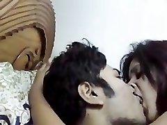 Indian very hot Punjabi damsel exposed jugs fuck and blowjob
