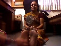 Mature Indian Chick Tickled