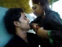 Teen Couple Outdoor Joy Gf giving her boobs to BF