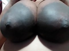 Humungous AREOLAS Idian Lady loves MY N-gg-r Balls