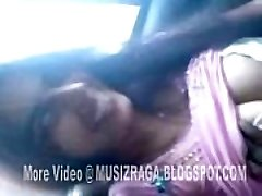 Desi Jaw-dropping Girl In Car And Bj With Beau