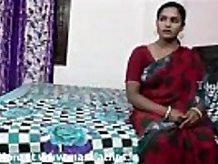 Good-sized boobs indian aunty in crimson saree pummeled by neighbour boy..and  record her