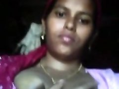 desi uber-cute Indian Maid Boobs
