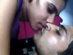 Indian doll hot and horny kiss to her bf