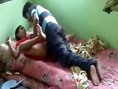 Real desi bhabhi poked by her devar privately at home
