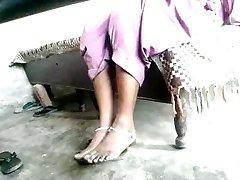 Indian sole fetish mistress