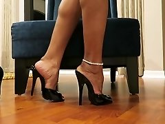 Unboxing and Trying On New Heels