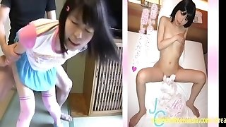 Aoi Tajima Small Teen Exploring Bang-out In Her Debut