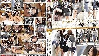 Yuria Kanno, Shizuka Kanno, Rika Miyashita, Yui Hirai in Office Women Skipping Work 3 part 3