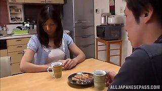 Hot mature Chinese housewife Chihiro Uehara in super-steamy 69