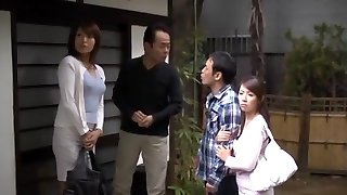 Wild Japanese chick Miwako Yamamoto, Misa Yuuki in Exotic Bj, Amateur JAV movie