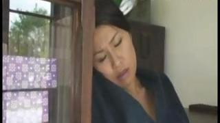 Japanese wifey sucks on his cock, gets smashed and sucks again