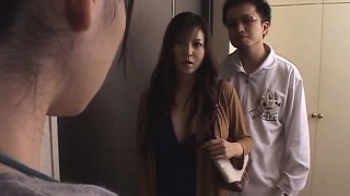 Japanese wife violated front of husband