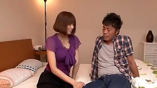 Insatiable Japanese girl Yuma Asami in Exotic Cunnilingus, 69 JAV flick