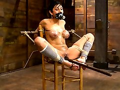 What do you do to one of Kinks toughest models? Anything and everything. Honey skinned and...