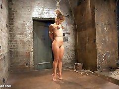 Audrey is an amazing combination of flexibility, beauty, and likes harsh punishing bondage that...