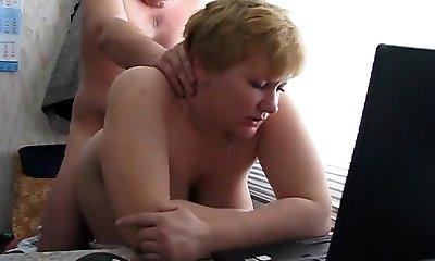 Masturbating Mature, Hairy Mature Fanny