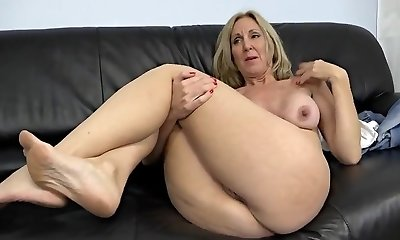 Mature, Blonde, Big Nipples, Nipples