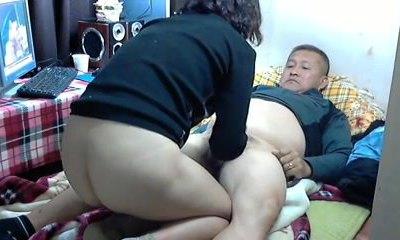 Matures, Asian, Dad, Home