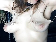 extreme milk cans nipple pussy ass torture