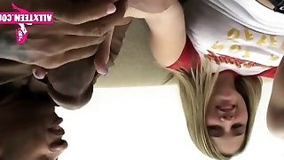 Youthful 18 Gets Xxl Black Cock MORE HERE - ALLXTEEN COM
