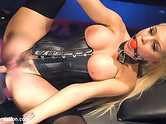 When Seth Gamble's girlfriend, Kenzie Taylor, takes a job as a dominatrix, their relationship suffers from her working long hours with clients. Things reach a boiling point when Kenzie brushes off Seth's sexual advances to go meet a client, and Seth goes to extreme measures to get his girlfriend back.Super hot, big tit blonde Kenzie Taylor is smoking hot as the dominatrix that gets skillfully dominated and fucked by Seth Gamble. Kenzie is glamorous and beautiful in corset and fetish wear. She opens up wide for great anal shots in this movie, and Seth delivers the dominance in spades.