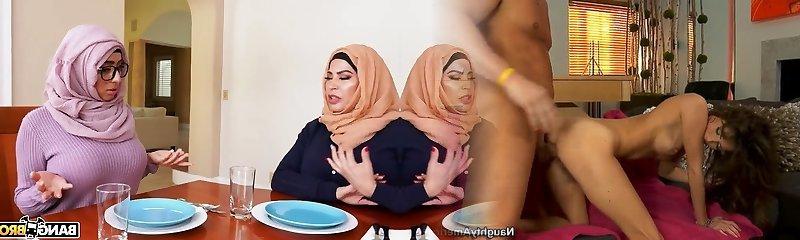 indische arabin muslimischen madchen zeigen titten