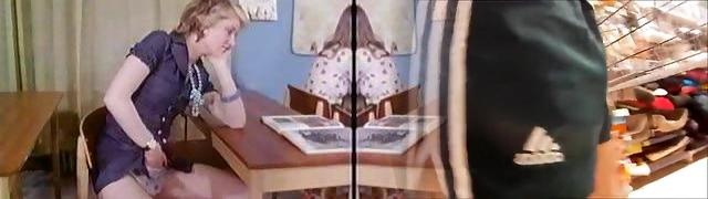 Vintage compilation of Danish porn film clothespins from the 1970s
