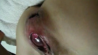 Asian Extraordinary EW Insertion - ball in pussy 01