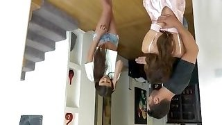 NannySpy Thieving Sitter Adria Rae banged after being caught stealing