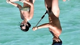 Orlando Bloom Nude Shaft in Vacation with Katy Perry