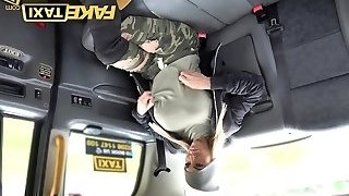 Fake Taxi Mature big-titted milf eats arse and empties big balls