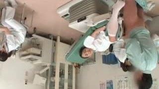 Cute asian nurse gets horny part5