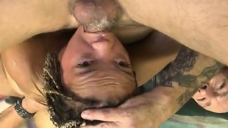 Sexy gf anal cum swap