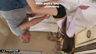 Defloration - a professional takes Mirella's purity