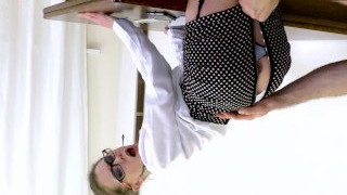 Warm teacher lures her student fucking her rump to mouth. Mia Bandini