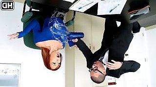 Dani Jensen & Peter Green in My Nerdy Assistant - MilfHunter
