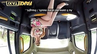 Fake Taxi Busty sexy redhead likes raunchy backseat fucking in
