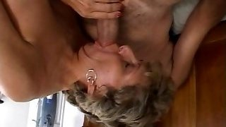 Mature is getting her dirty ass smashed