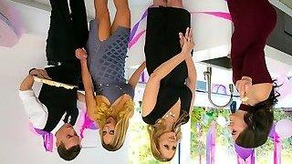 Julia Ann & Olivia Austin & Justin Hunt in My Stepmoms Social Club - BrazzersNetwork