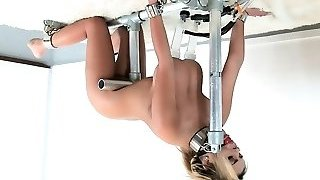 Milking Machine and Huge-chested Blonde