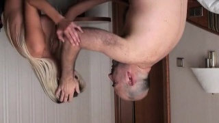 Casting doll walks off after hard-core intrusion and anal h
