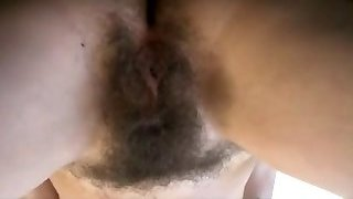 Cumshot On Hairy Pussy BVR