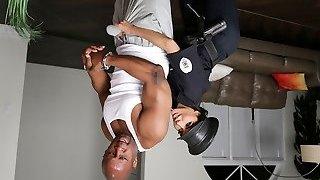 Lela Star & Prince Yahshua in Bad Cop Black Beefstick - RKPrime